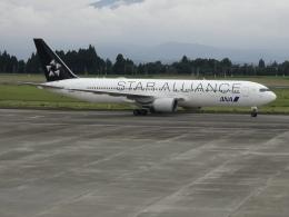 Blue605Aさんが、鹿児島空港で撮影した全日空 767-381/ERの航空フォト(飛行機 写真・画像)