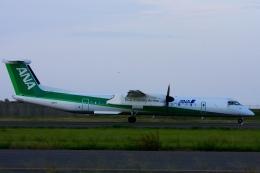 Hiro-hiroさんが、新潟空港で撮影したANAウイングス DHC-8-402Q Dash 8の航空フォト(飛行機 写真・画像)