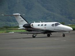 ヒコーキグモさんが、岡南飛行場で撮影した岡山航空 510 Citation Mustangの航空フォト(飛行機 写真・画像)