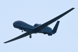 たまさんが、横田基地で撮影したアメリカ空軍 RQ-4B-40 Global Hawkの航空フォト(飛行機 写真・画像)