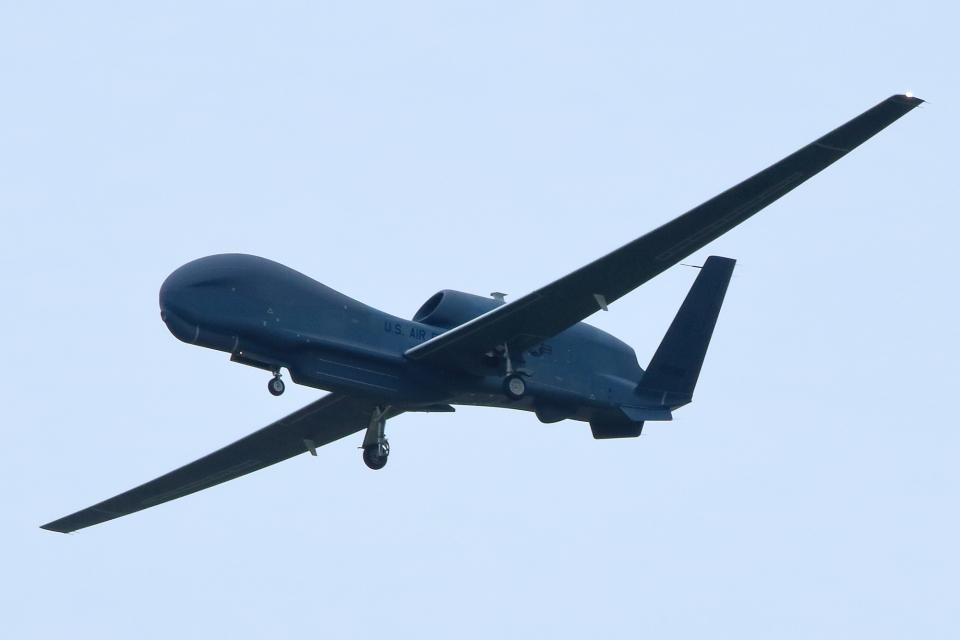 たまさんのアメリカ空軍 Northrop Grumman RQ-4 Global Hawk (11-2049) 航空フォト