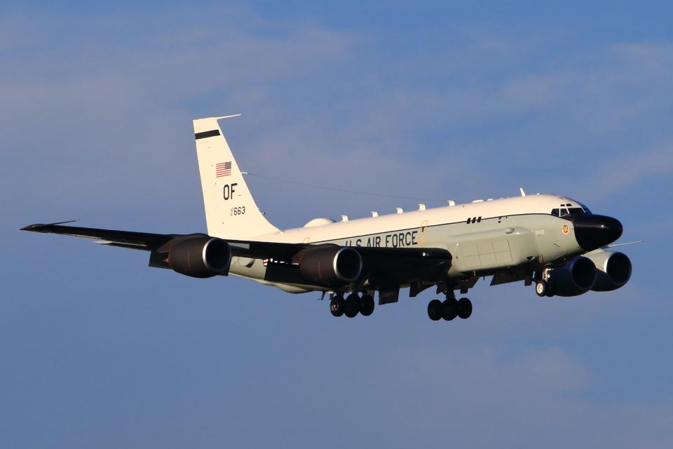 たまさんのアメリカ空軍 Boeing C-135 Stratolifter (61-2663) 航空フォト