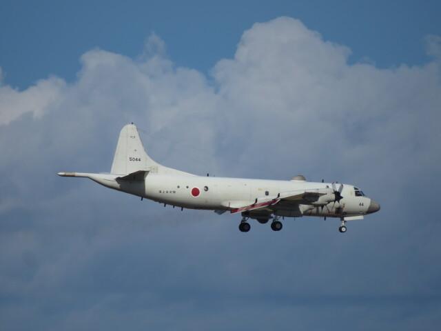 Tradel View FUKUROさんが、那覇空港で撮影した海上自衛隊 P-3Cの航空フォト(飛行機 写真・画像)