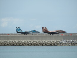 Tradel View FUKUROさんが、那覇空港で撮影した航空自衛隊 F-15DJ Eagleの航空フォト(飛行機 写真・画像)