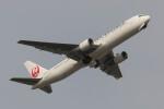 Koenig117さんが、羽田空港で撮影した日本航空 767-346/ERの航空フォト(飛行機 写真・画像)