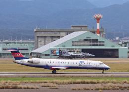 わかすぎさんが、小松空港で撮影したアイベックスエアラインズ CL-600-2C10 Regional Jet CRJ-702の航空フォト(飛行機 写真・画像)