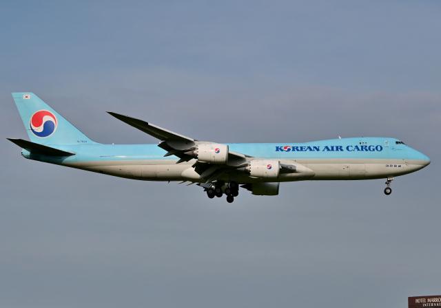雲霧さんが、成田国際空港で撮影した大韓航空 747-8B5F/SCDの航空フォト(飛行機 写真・画像)