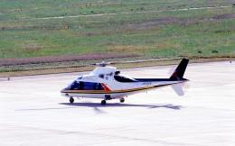LEVEL789さんが、岡山空港で撮影した日本法人所有 A109A Mk2の航空フォト(飛行機 写真・画像)