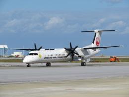 Tradel View FUKUROさんが、那覇空港で撮影した琉球エアーコミューター DHC-8-402Q Dash 8 Combiの航空フォト(飛行機 写真・画像)