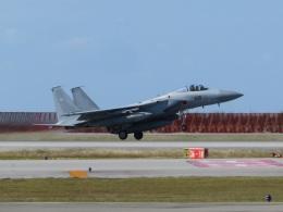 Tradel View FUKUROさんが、那覇空港で撮影した航空自衛隊 F-15J Eagleの航空フォト(飛行機 写真・画像)