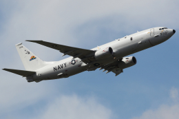 Talon.Kさんが、厚木飛行場で撮影したアメリカ海軍 P-8A (737-8FV)の航空フォト(飛行機 写真・画像)