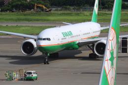 HLeeさんが、台湾桃園国際空港で撮影したエバー航空 777-35E/ERの航空フォト(飛行機 写真・画像)
