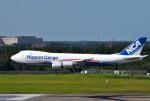 mojioさんが、成田国際空港で撮影した日本貨物航空 747-8KZF/SCDの航空フォト(飛行機 写真・画像)