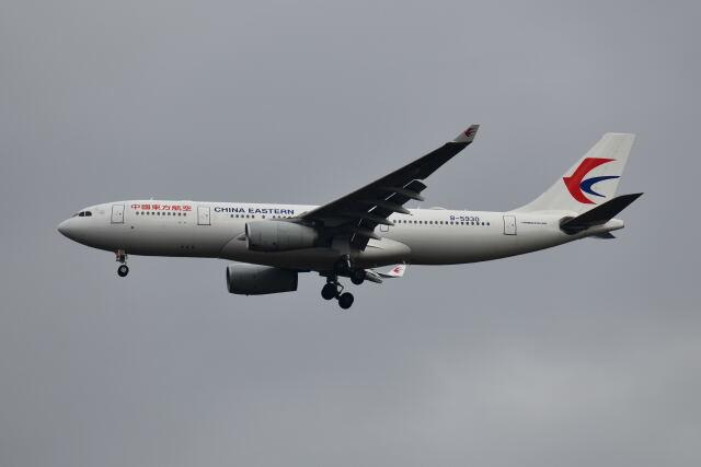 ポン太さんが、成田国際空港で撮影した中国東方航空 A330-243の航空フォト(飛行機 写真・画像)