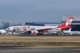 ポン太さんが、成田国際空港で撮影したエアアジア・エックス A330-343Xの航空フォト(飛行機 写真・画像)