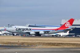 ポン太さんが、成田国際空港で撮影したカーゴルクス・イタリア 747-4R7F/SCDの航空フォト(飛行機 写真・画像)