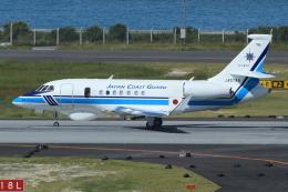 キイロイトリさんが、那覇空港で撮影した海上保安庁 Falcon 2000EXの航空フォト(飛行機 写真・画像)