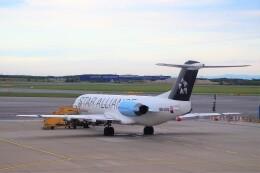 ちっとろむさんが、ウィーン国際空港で撮影したオーストリア航空 100の航空フォト(飛行機 写真・画像)
