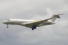 Cozy Gotoさんが、成田国際空港で撮影したウィルミントン・トラスト・カンパニー BD-700 Global Express/5000/6000の航空フォト(飛行機 写真・画像)