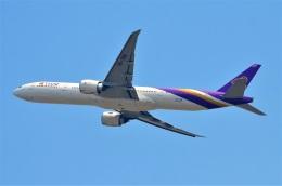 amagoさんが、スワンナプーム国際空港で撮影したタイ国際航空 777-3AL/ERの航空フォト(飛行機 写真・画像)