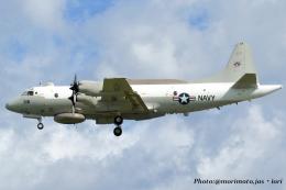 いおりさんが、嘉手納飛行場で撮影したアメリカ海軍 EP-3E Orion (ARIES II)の航空フォト(飛行機 写真・画像)