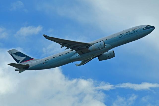 Souma2005さんが、香港国際空港で撮影したキャセイパシフィック航空 A330-343Xの航空フォト(飛行機 写真・画像)