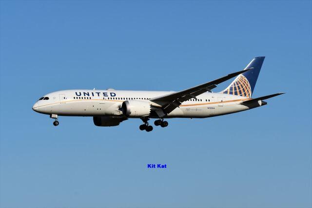 キットカットさんが、成田国際空港で撮影したユナイテッド航空 787-8 Dreamlinerの航空フォト(飛行機 写真・画像)