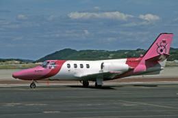 Gambardierさんが、岡山空港で撮影した産経新聞社 501 Citation I/SPの航空フォト(飛行機 写真・画像)