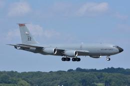 サンドバンクさんが、横田基地で撮影したアメリカ空軍 KC-135R Stratotanker (717-148)の航空フォト(飛行機 写真・画像)