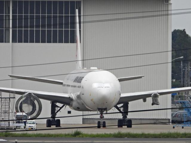 チャレンジャーさんが、成田国際空港で撮影した日本航空 777の航空フォト(飛行機 写真・画像)