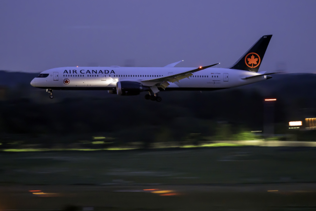 K.Sさんが、成田国際空港で撮影したエア・カナダ 787-9の航空フォト(飛行機 写真・画像)