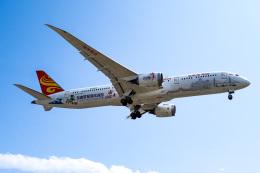 LAX Spotterさんが、ロサンゼルス国際空港で撮影した海南航空 787-9の航空フォト(飛行機 写真・画像)