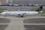 青春の1ページさんが、羽田空港で撮影したルフトハンザドイツ航空 A340-313Xの航空フォト(飛行機 写真・画像)