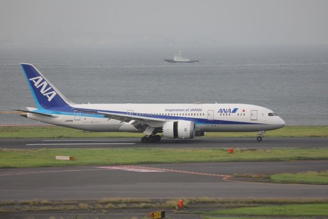 OS52さんが、羽田空港で撮影した全日空 787-8 Dreamlinerの航空フォト(飛行機 写真・画像)