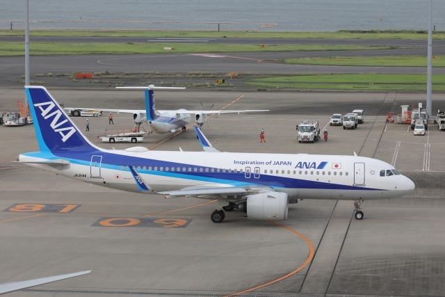 OS52さんが、羽田空港で撮影した全日空 A320-271Nの航空フォト(飛行機 写真・画像)