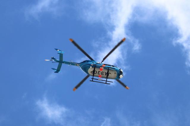 誘喜さんが、成田国際空港で撮影した千葉県警察 BK117C-2の航空フォト(飛行機 写真・画像)