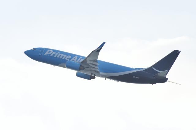 kurubouzuさんが、関西国際空港で撮影したアマゾン・プライム・エアー 737-800の航空フォト(飛行機 写真・画像)