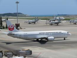 Tradel View FUKUROさんが、那覇空港で撮影した日本トランスオーシャン航空 737-446の航空フォト(飛行機 写真・画像)