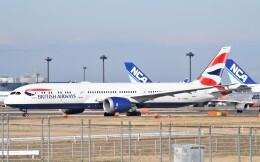鉄バスさんが、成田国際空港で撮影したブリティッシュ・エアウェイズ 787-9の航空フォト(飛行機 写真・画像)