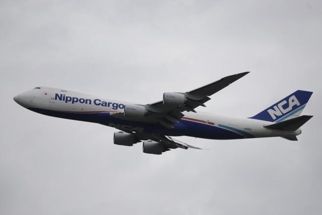 m_aereo_iさんが、成田国際空港で撮影した日本貨物航空 747-8KZF/SCDの航空フォト(飛行機 写真・画像)