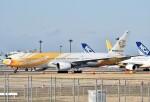 鉄バスさんが、成田国際空港で撮影したノックスクート 777-212/ERの航空フォト(飛行機 写真・画像)