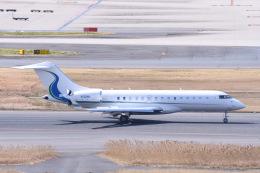 Jyunpei Ohyamaさんが、羽田空港で撮影したウィルミントン・トラスト・カンパニー BD-700-1A10 Global Expressの航空フォト(飛行機 写真・画像)