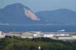 JJ✈さんが、岩国空港で撮影したアトラス航空 747-446の航空フォト(飛行機 写真・画像)