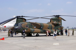 masahiさんが、厚木飛行場で撮影した陸上自衛隊 CH-47Jの航空フォト(飛行機 写真・画像)