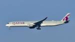 パンダさんが、成田国際空港で撮影したカタール航空 A350-1041の航空フォト(飛行機 写真・画像)