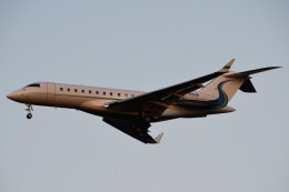 木人さんが、成田国際空港で撮影した不明 BD-700-1A10 Global Expressの航空フォト(飛行機 写真・画像)