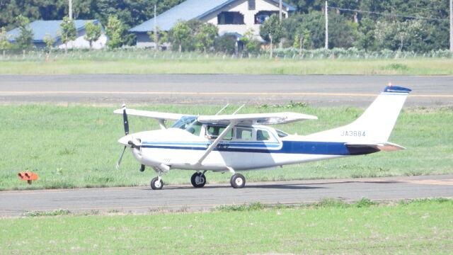 つんつこさんが、花巻空港で撮影した北海道航空 TU206G Turbo Stationair 6 IIの航空フォト(飛行機 写真・画像)