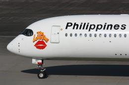 西麻布と焼売弁当さんが、羽田空港で撮影したフィリピン航空 A350-941の航空フォト(飛行機 写真・画像)