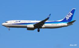 RINA-281さんが、小松空港で撮影した全日空 737-8ALの航空フォト(飛行機 写真・画像)