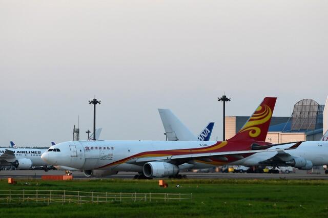 おかめさんが、成田国際空港で撮影した香港エアカーゴ A330-243Fの航空フォト(飛行機 写真・画像)
